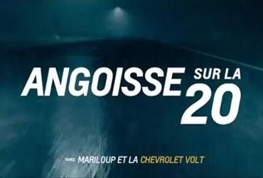 Chevrolet Angoisse sur la 20